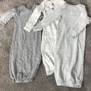 Carters lot sleepers 0-3 months and 3 months